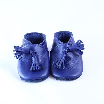 Chaussons Igor bleu, 0-6 mois