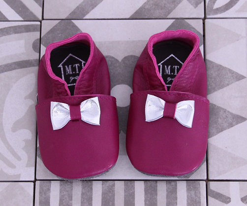 Chaussons Rose, 6-12 mois