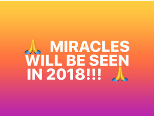 Miracles in 2018