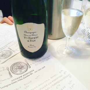 Andrew Edmunds - a wine restaurant