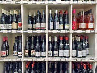 The wine list at St. John