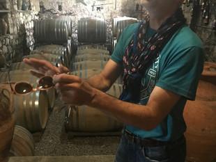 Luigi Tecce and the international language of wine