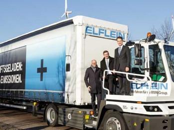 El camión eléctrico Terberg utiliza transmisiones Allison para maximizar la productividad y salidas
