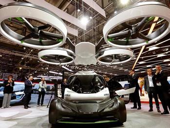El vehículo eléctrico modular que puede moverse por tierra y aire