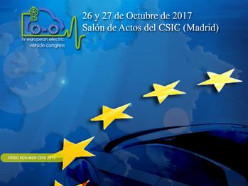 Cañete y Navia participan en el IV Congreso Europeo del Vehículo Eléctrico