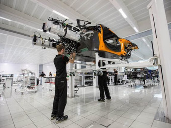 La mitad de los McLaren serán híbridos en 2022