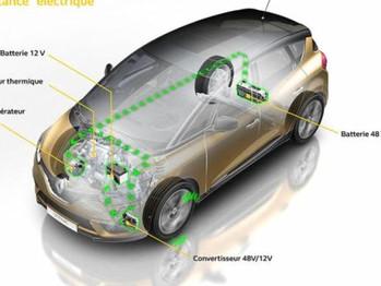 Renault Scenic 2017 Hybrid Assist
