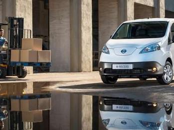 Nissan e-NV200, la furgoneta eléctrica más vendida en Europa