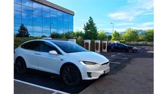 Tesla activa una nueva estación supercargadora en Getafe, la primera en Madrid