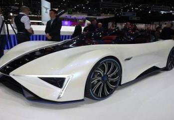 TechRules Ren: China presentó su vehículo deportivo eléctrico
