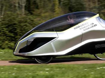 El vehículo C5 del creador de la Spectrum revive en una bicicleta eléctrica