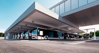 ABB desvela su solución de carga inteligente para cocheras de autobuses
