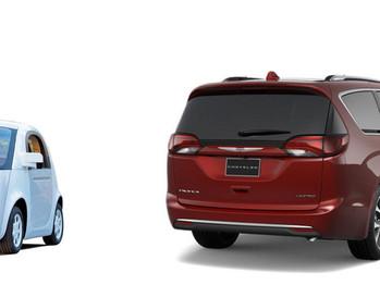 Cien monovolúmenes del grupo Fiat serán los próximos coches autónomos de Google, podrían haber sido