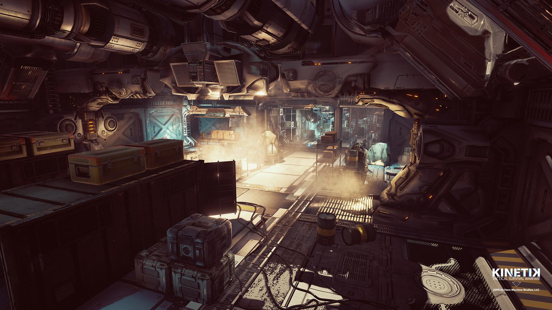 Underground lunar base