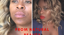 Get ready with me!! GRWN edition..watch me Transform from a natural beauty to daytime hottie!! Feat.