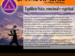 Meditação em Movimento *Amanhã*