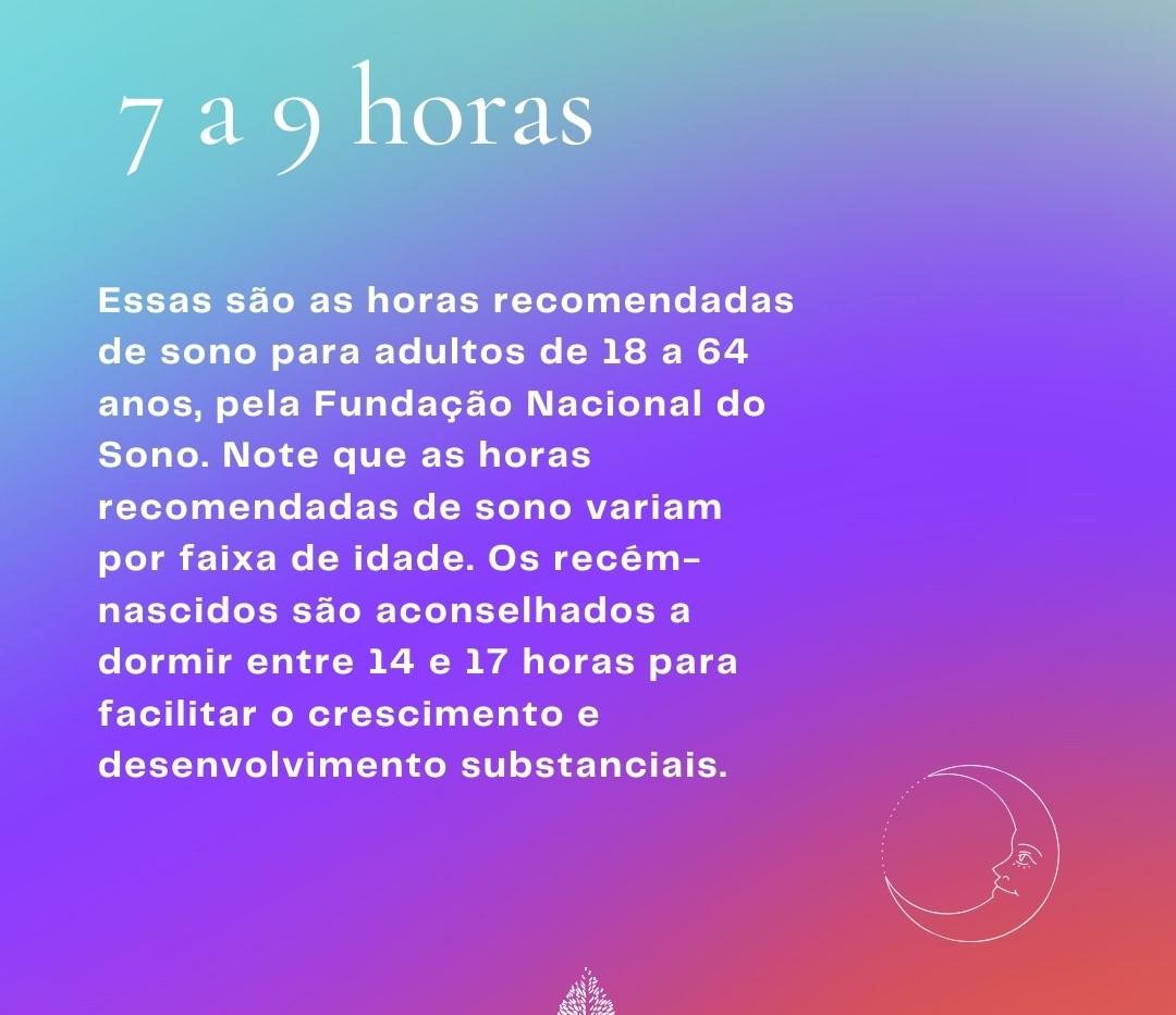 HORAS DE SONO