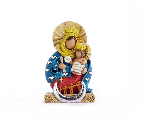 Virgen de Chiquinquirá Guitla-Olivares