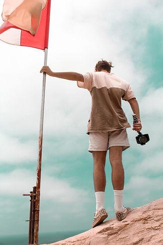 Flag on Top