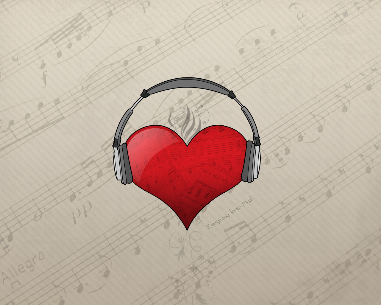 Hearts Music Love   Zedge Wallpapers