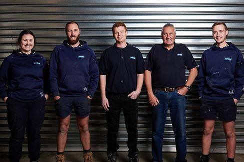 Shepperd Bros Group Photo