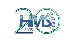 Logotipo 20 anos HMS