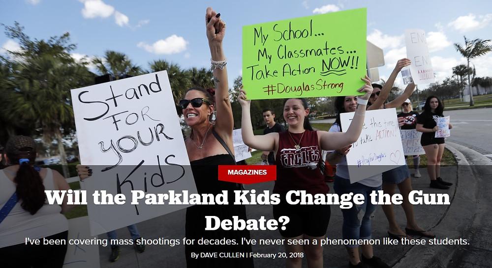 Parkland Douglas students change gun debate #NeverAgain NeverAgain --  MFOL Politico Jaclyn Corin Tallahassee buses