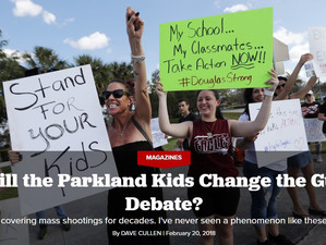 Will the NeverAgain kids change the gun debate?