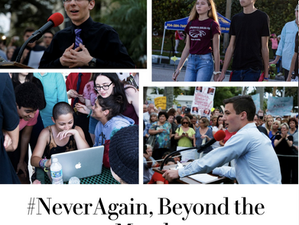 Staying on the Parkland / NeverAgain story