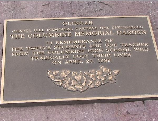 Columbine Olinger Cemetery Memorial