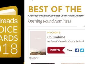Vote for Columbine: finalist for Goodreads 'Best of the Best' of past 10 years