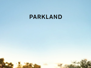 My next book: 'Parkland'