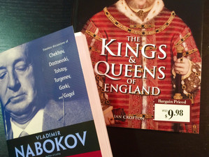 Today's obsession: Tolstoy and English kings