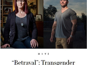 """Betrayal"": Transgender Troops React to Trump's Ban"