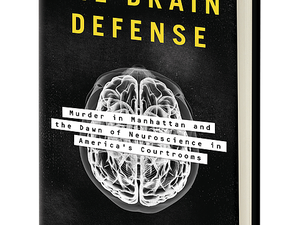 The only book I blurbed this year: The Brain Defense—just released