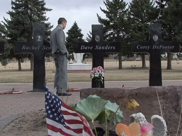Columbine Olinger Cemetery Memorial Dave Sanders Rachel Scott Corey DePooter Dave Cullen