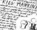 Eric Harris journal, Columbine, Kill Mankind, Napalm sketch