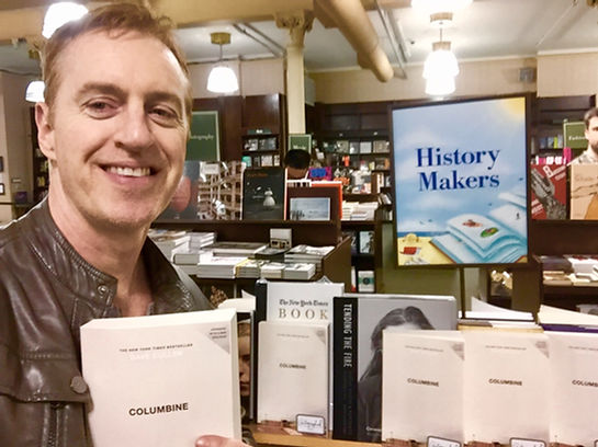 Columbine autographed Dave Cullen B&N 'History Makers' Barnes & Noble Union Square