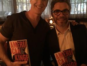 Meeting Nick Bilton at his 'American Kingpin' book launch