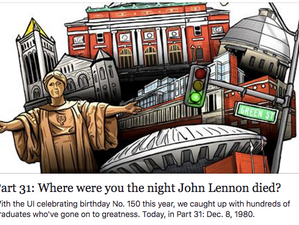 Where were you the night John Lennon died?