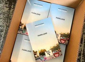Giveaway of 'Parkland' advance galleys