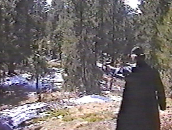 Dylan Klebold firing shotgun at Rampart Range-Columbine