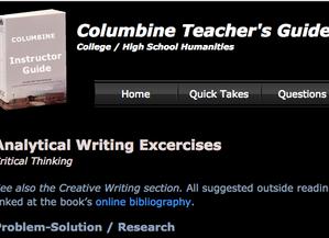Columbine Teacher's Guide back online