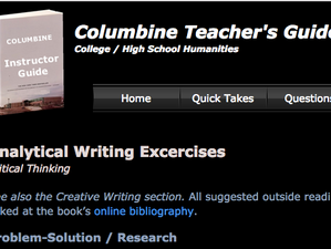 Columbine Teacher's Guide back online