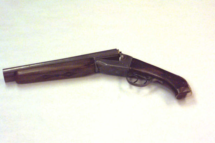 Dylan Klebold's double-barreled shotgun, Columbine guns