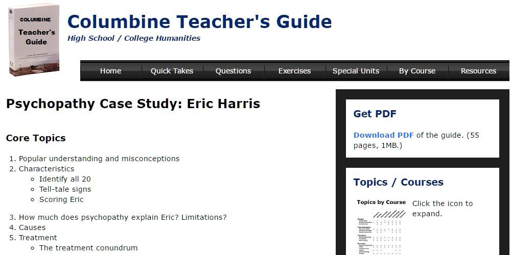 Columbine Teacher's Guide