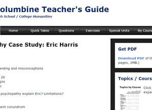Columbine Teacher's Guide gets new look