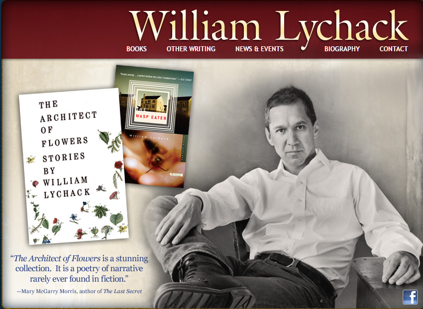 Architect of Flowers, William Lychack, book cover
