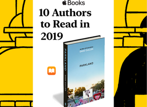 Apple named me 1 of '10 authors to read in 2019'