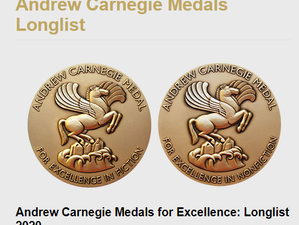 PARKLAND longlisted for ALA Andrew Carnegie Medal